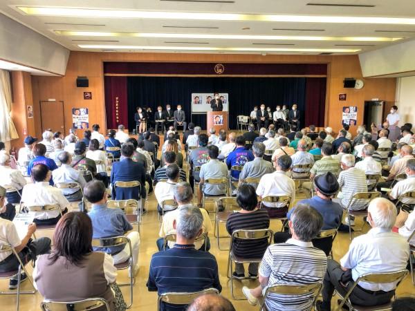 030801羽島市後援会連合会 国政報告会
